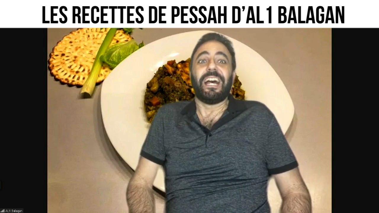 Les recettes de Pessah d'Al1 Balagan