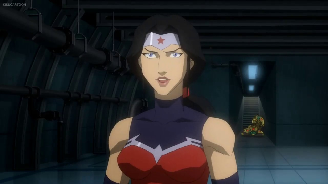 Justice League: War - Wonder Woman & Superman Save Air ...