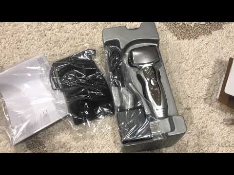 Panasonic ES8103S Arc3 Men's Electric Shaver Unboxing and Review