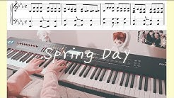 BTS (방탄소년단) - Spring Day (봄날) Piano Cover