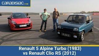 Renault 5 Alpine Turbo (1983) vs Renault Clio RS (2012) thumbnail