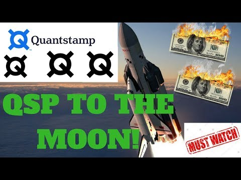 Why you should BUY QUANTSTAMP QSP the BEST ALTCOIN in 2018!? CRYPTOCURRENCY REVIEW