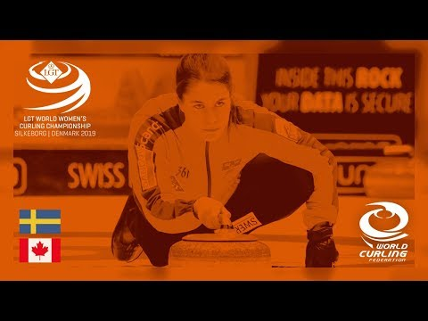 Sweden v Canada - round robin - LGT World Women's Curling Ch