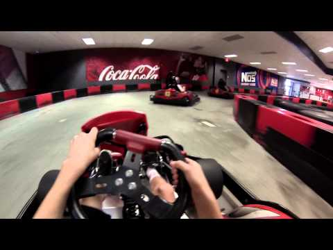 Indoor Go Kart Crash (Broken Kart)