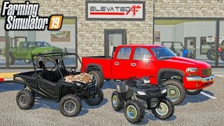 OUR FIRST SALE! THE SQUAD BUYS 2021 HONDA ATV   (ROLEPLAY) FARMING SIMULATOR 2019
