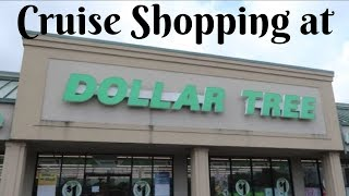 Cruise Shopping at Dollar Tree
