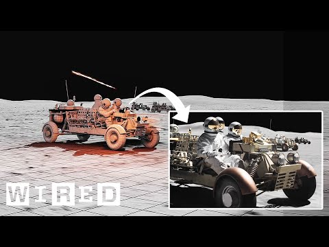 How Ad Astra's Moon Visual Effects Were Made | WIRED