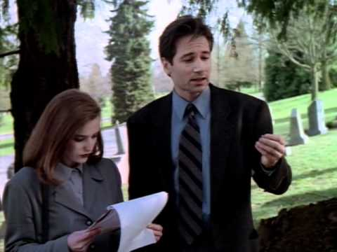 X-Files Season 1 Episode 1 - Hidden Message