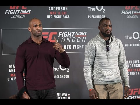 Interview with Jimi Manuwa at UFC London Media Day