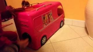 Il magnifico camper di barbie
