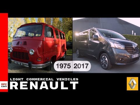 Over A Century Of Renault Expertise In Light Commercial Truck & Van Vehicles