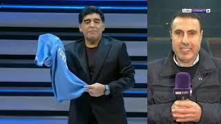 حسين ياسين: مارادونا كان حقيقيا بكل شيء، الآن تنتهي الحكاية