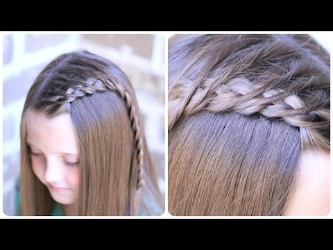 How to create a crossover dutch braid youtube