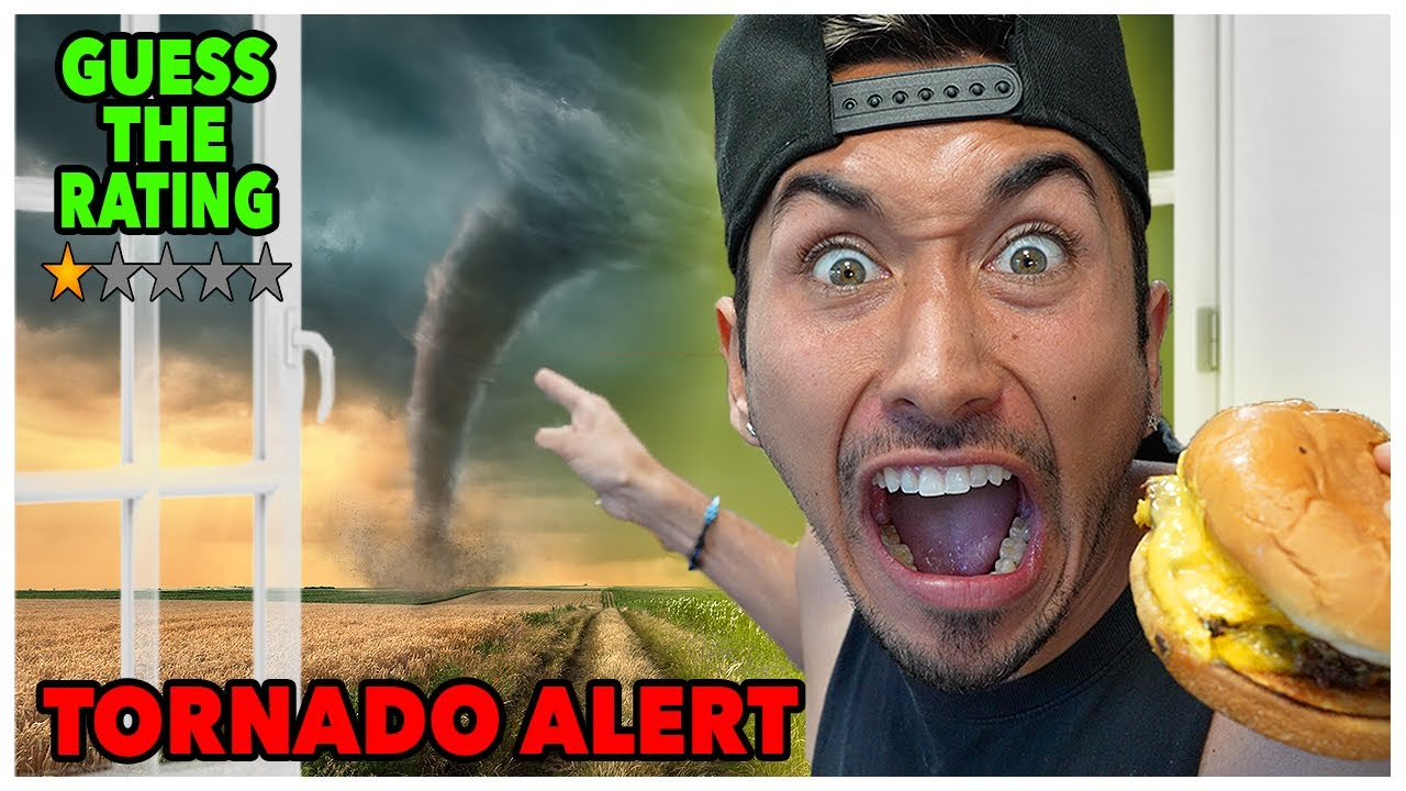 Food Review… DURING a Tornado (Guess The Rating) *DANGEROUS*
