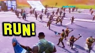 Fortnite Funny and WTF Moments (RUN FOR YOUR LIFE!) (Battle Royale)