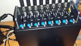 Wavecom Q24Plus 8-port USB Modem Bank