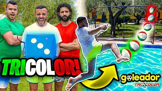 🎲⚽DADO TRICOLOR CHALLENGE in PISCINA!🇮🇹