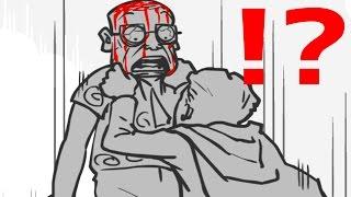 グロ注意 - 上司の首を全力で絞めるスーパーヒーロー - 実況プレイ thumbnail