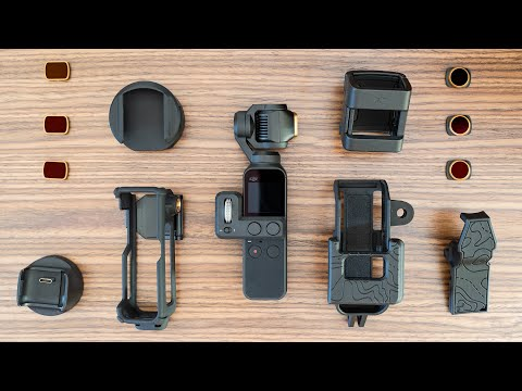 DJI Osmo Pocket - Best Accessories: PolarPro | Mounts & More