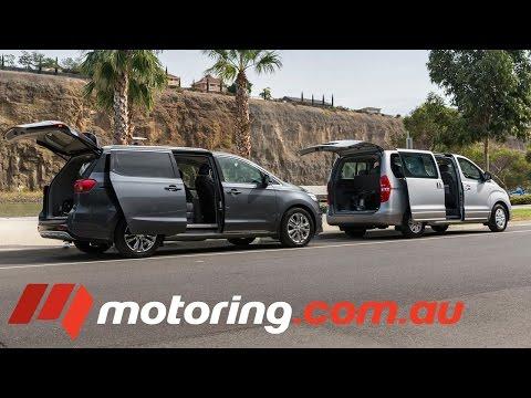 2016 Kia Carnival v Hyundai iMax Review Comparison