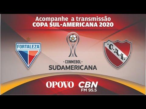 fortaleza-x-independiente copa-sul-americana-2020--primeira-fase-jogo-de-volta--acompanhe-todos-os