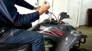 Yamaha 4X4 Quad No Start