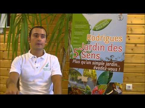 Rodrigues Jardin des 5 Sens Interview Julien SCHMIDT