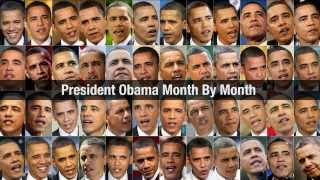 President Obama Aging Month By Month