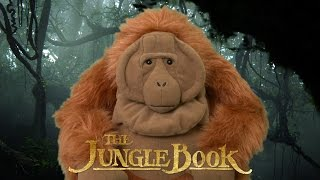 The Jungle Book Stuffed King Louie from Just Play