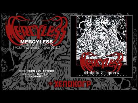 "MERCYLESS ""Another Desolation"" [""Vomiting Nausea"" demo 1990]"