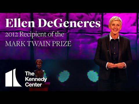 Ellen DeGeneres Acceptance Speech | 2012 Mark Twain Prize