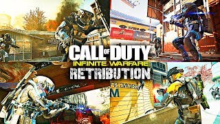 THE FINAL DLC OF INFINITE WARFARE.. (Retribution Map Pack Gameplay)