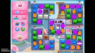 Candy Crush Level 1159 Audio Talkthrough, 2 Stars 0 Boosters