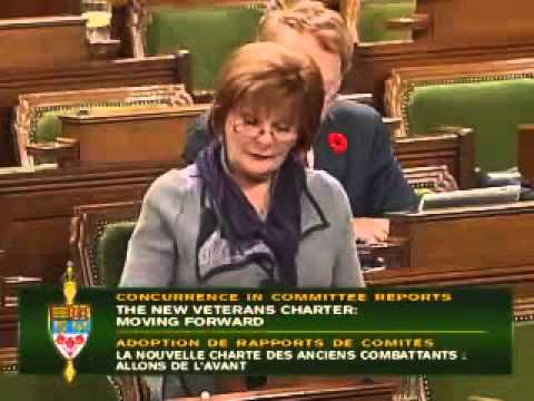 Speech November 6 Implementing Veteran's Affairs Committee Report
