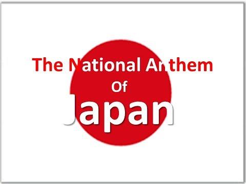 The National Anthem of Japan instrumental with lyrics