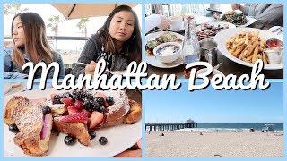 미국 LA일상 브이로그 💙 맨하탄비치 먹방 - Manhattan Beach Mukbang