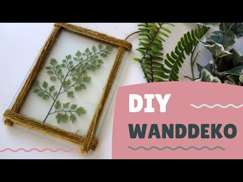 0 - Botanical Green - Wanddeko DIY