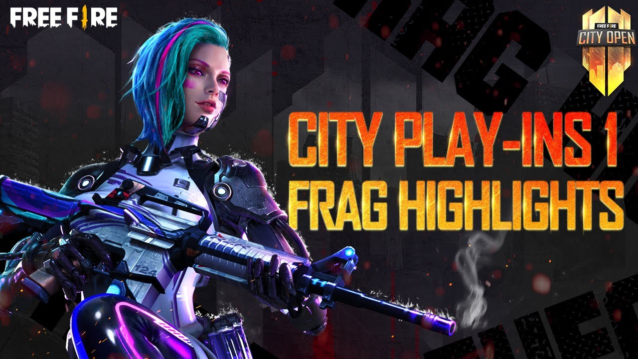 FFCO City Play-Ins 1 Frag Highlights | Free Fire City Open