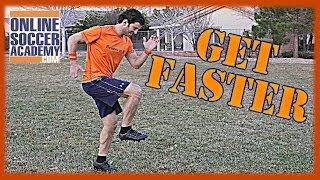 How to Increase your Speed - How do you get Faster - Online Soccer Academy