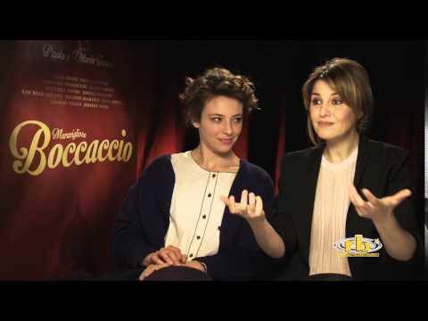 Jasmine Trinca e Paola Cortellesi - intervista per Meraviglioso Boccaccio - RB Casting