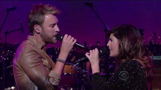 lady antebellum just a kiss live on letterman 09 01 2011 hd 1080p