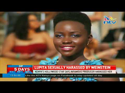 Lupita Nyong'o was sexually harassed by Harvey Weinstein