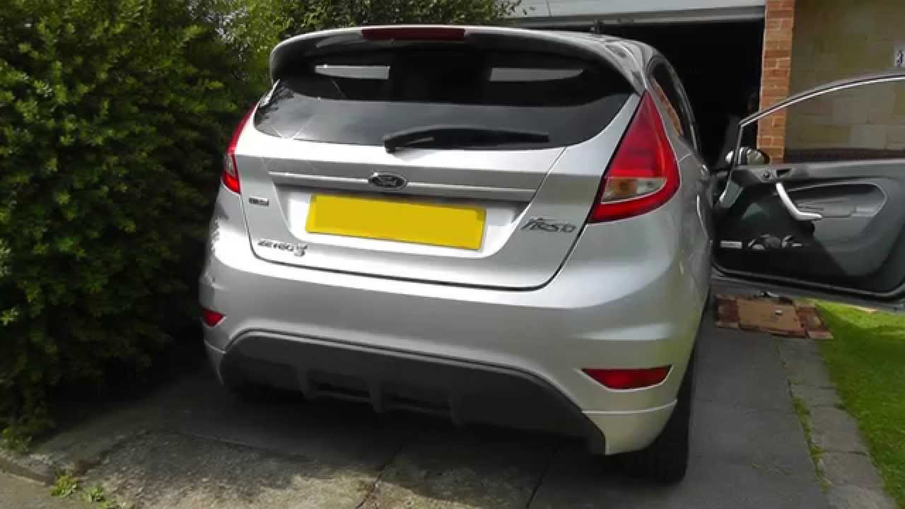 Ford Fiesta Rear Light Cluster Removal