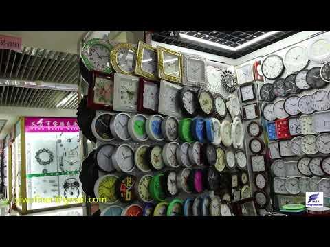Watches & Clocks Wholesale Market In China Yiwu