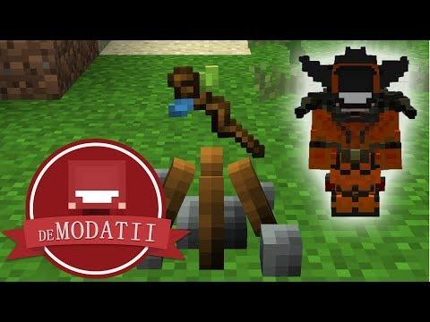 deModatii - ep 19 - FACEM VRAJI + UPGRADE ARMURA   Minecraft Modat