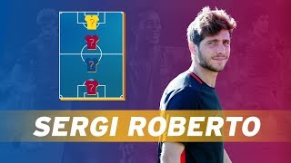 SERGI ROBERTO   MY TOP 4 (LEGENDS)