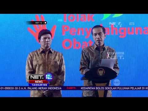 Jawaban Lucu Bim Bim Slank Saat Ditanya Presiden Jokowi Tentang Narkoba