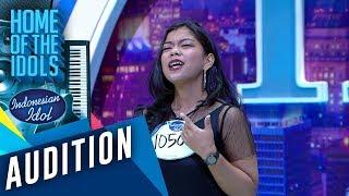 Hasil latihan setiap hari, Ainun dapat Golden Ticket - AUDITION 4 - Indonesian Idol 202