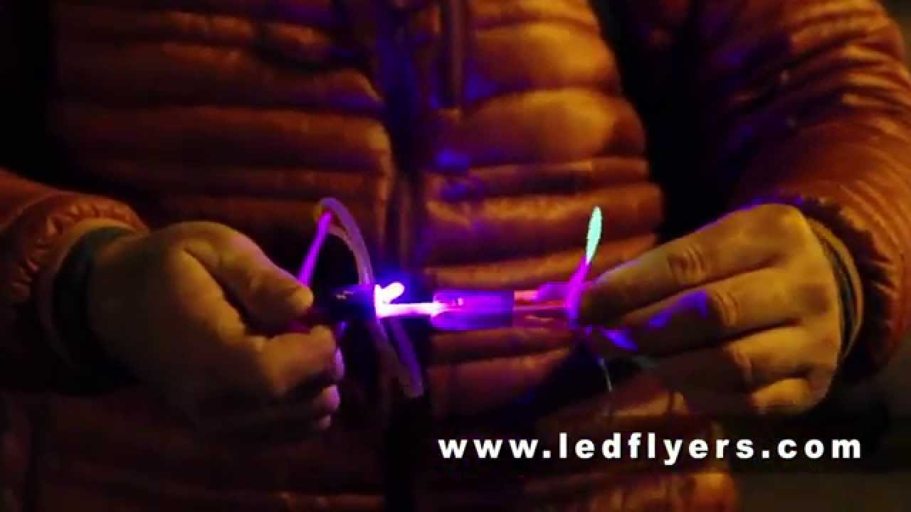 Led flying toy instruction video demo tutorial youtube.