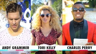 "Holiday ""Would You Rather"" with Andy Grammer, Tori Kelly, and Charles Perry 